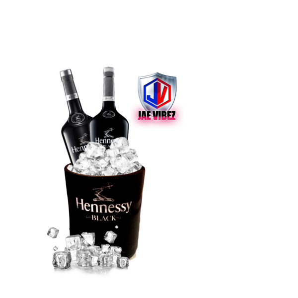 Hennessy puddle png. Ice bucket official psds