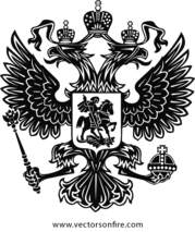 Russia vector color. Free coat of arm