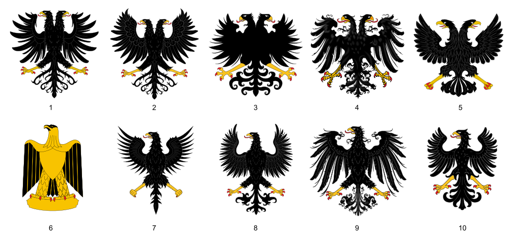File aguilas her ldicas. Heraldry vector free library