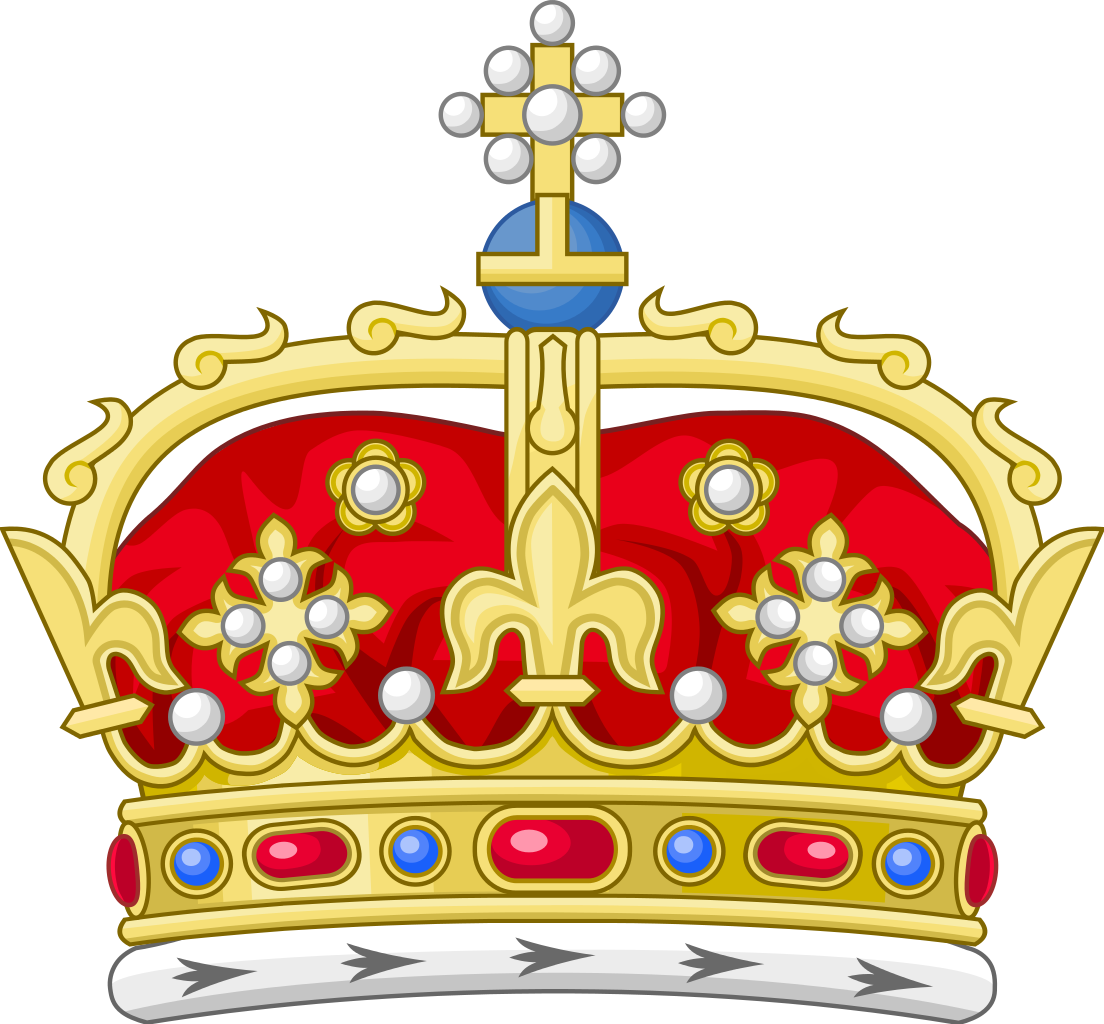 Heraldry vector civic crown. File royal of scotland