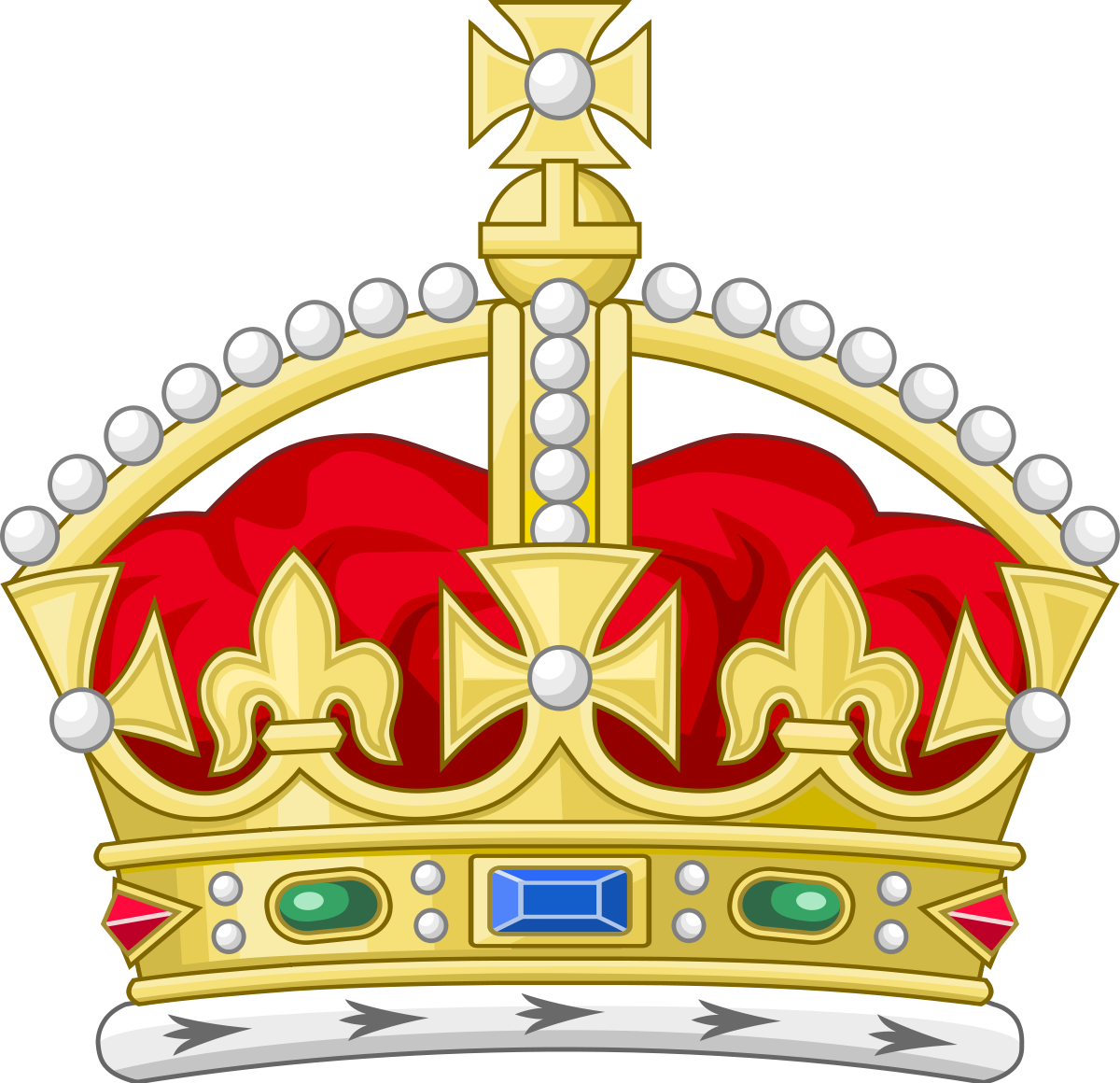 Heraldry vector european old. Tudor crown wikipedia