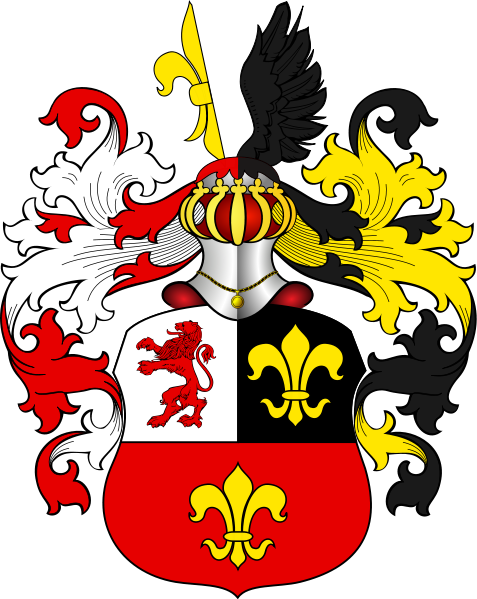 Heraldry vector family crest. Find or create your