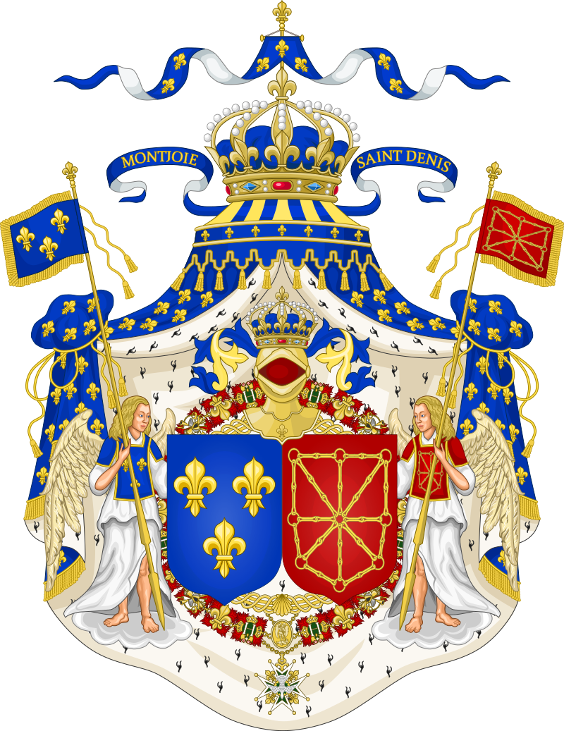 Heraldry vector royal crest. Grand coat of arms