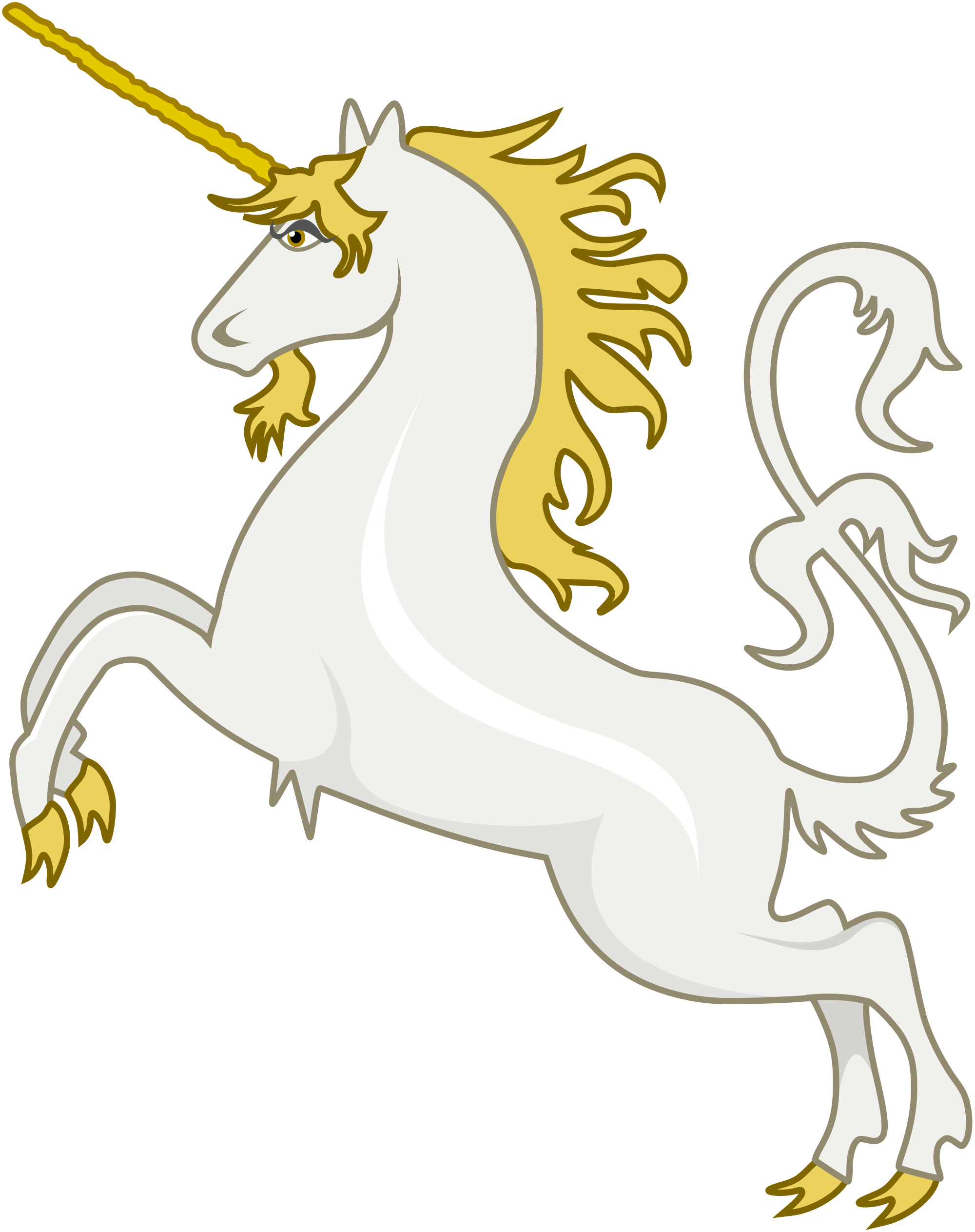Svg unicorn vector. File heraldic wikimedia commons