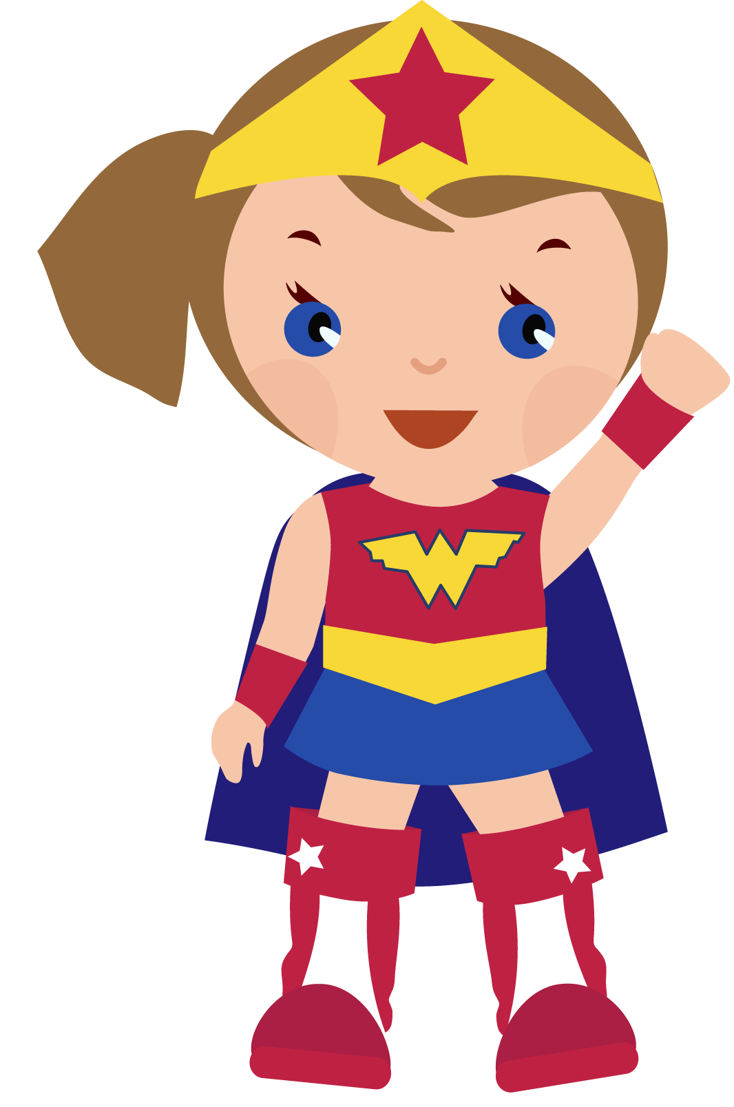 supergirl clipart cute anime