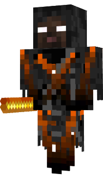 Herobrine drawing minecraft skin. Lava ghost novaskin gallery