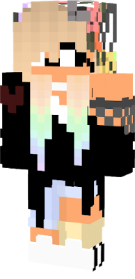 Herobrine drawing minecraft skin. Wolf nova cute girl