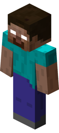 Herobrine transparent. Official minecraft wiki herobrinepng