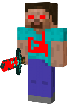 Herobrine transparent evil. Minecraft skin diy pinterest