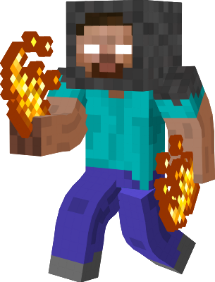 Herobrine transparent minecraft skins. The nova skin take