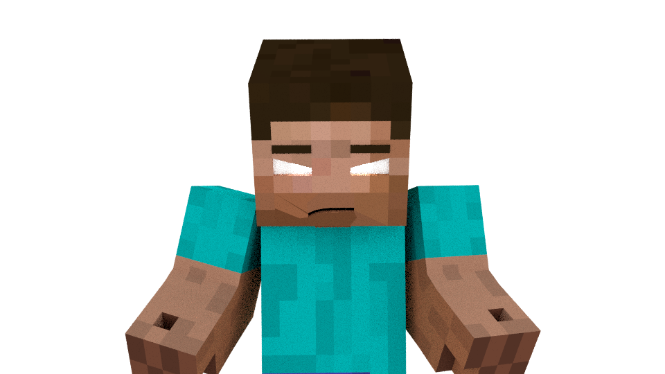 Herobrine transparent minecraft steve. Portrait of from the