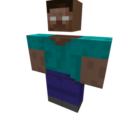 herobrine transparent roblox