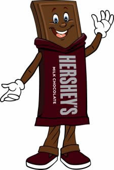 Hershey clipart. Candy bar at getdrawings