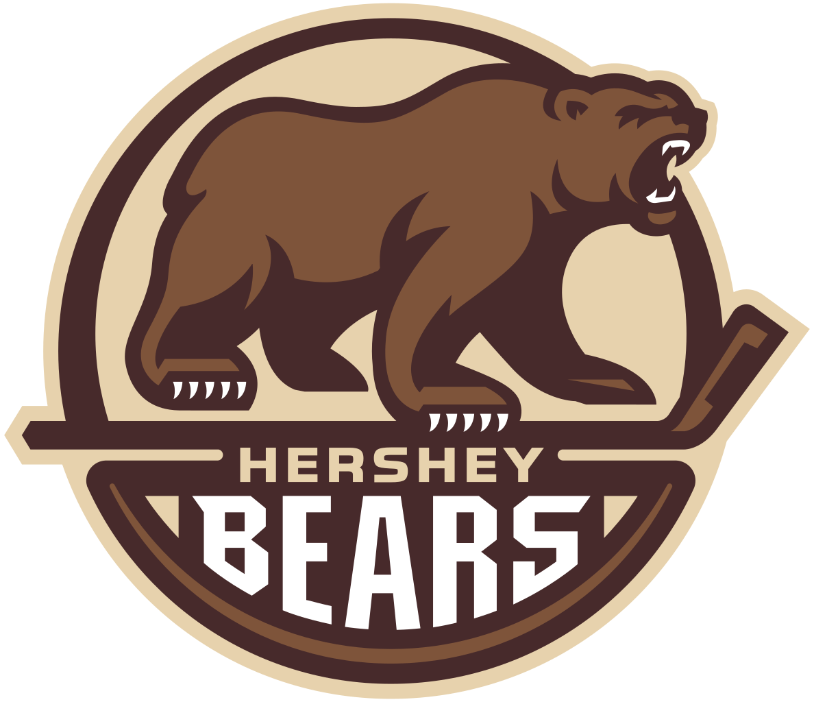 Hershey clipart transparent. Bears round logo png