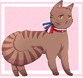 Hetalia clip cat. Latin american and south