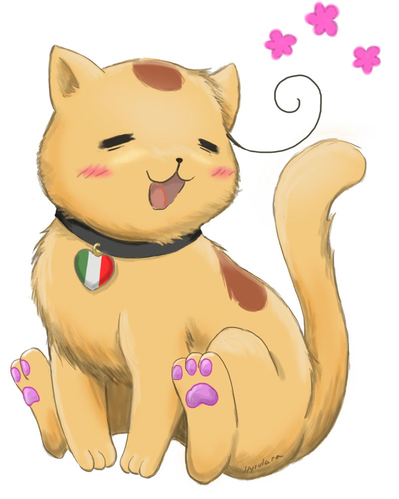 Hetalia clip cat. Neko italia pinterest and