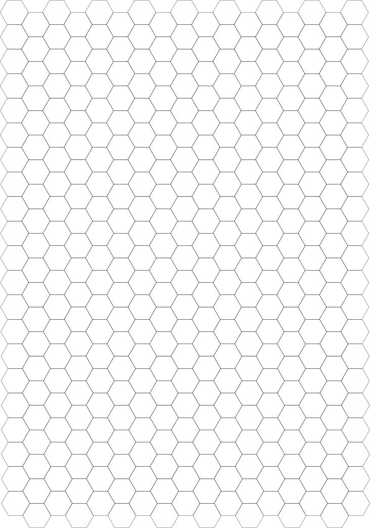 Hex grid png. Five eighthsinch by sudsysutherland
