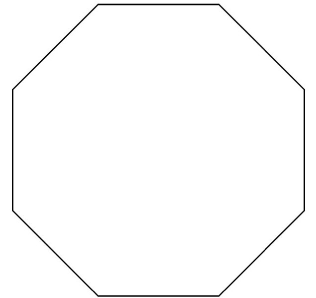 Hexagon clipart. Great of black and