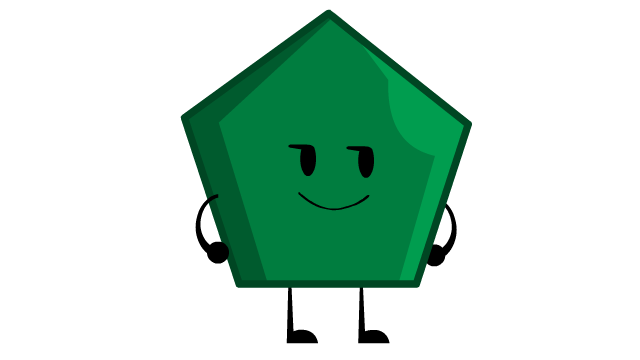 Hexagon clipart pentagon shape. Green battle wiki fandom