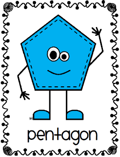 Hexagon clipart pentagon shape. People posters awesome pinterest