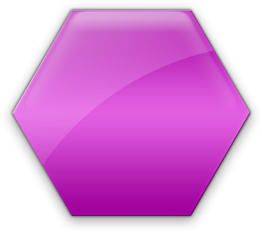 Hexagon clipart pink. Download hd black and