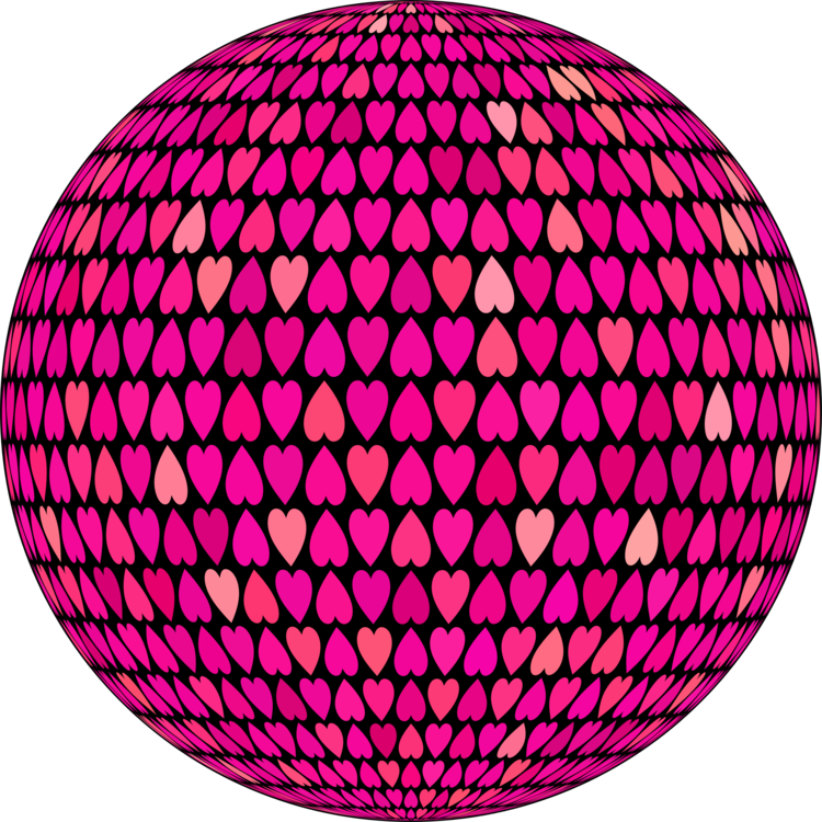 Hexagon clipart pink. Sphere circle area tile