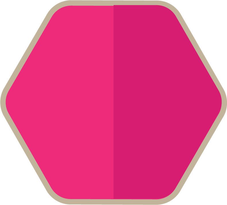 Hexagon clipart pink. Png transparent free images
