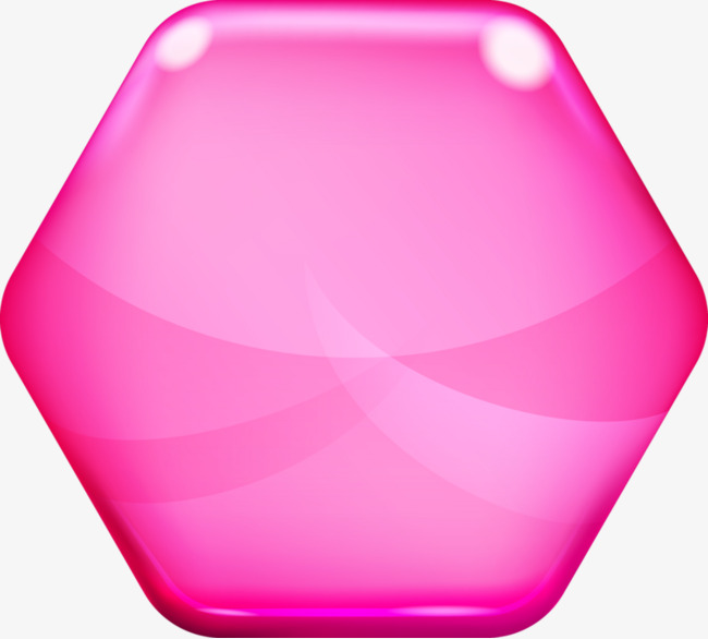 Hexagon clipart pink. Hexagons bright color png