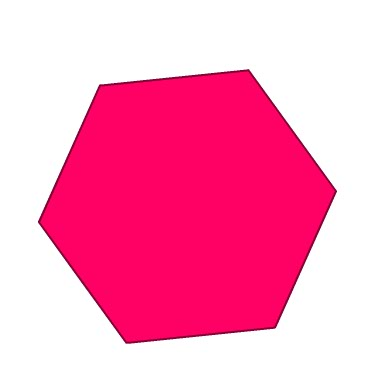 Hexagon clipart pink. At getdrawings com free