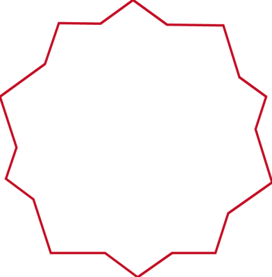 Hexagon clipart red. Shape clip art on