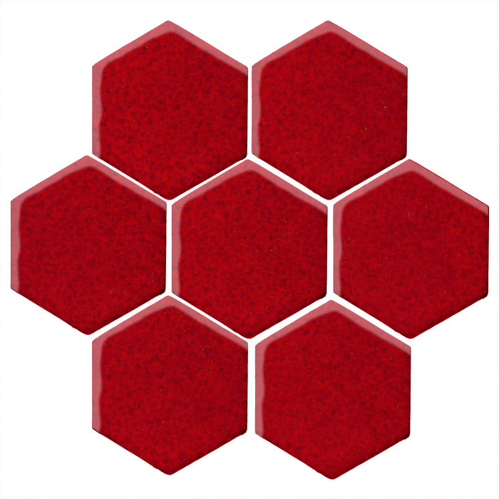 Hexagon clipart red. Color cadmium c shape