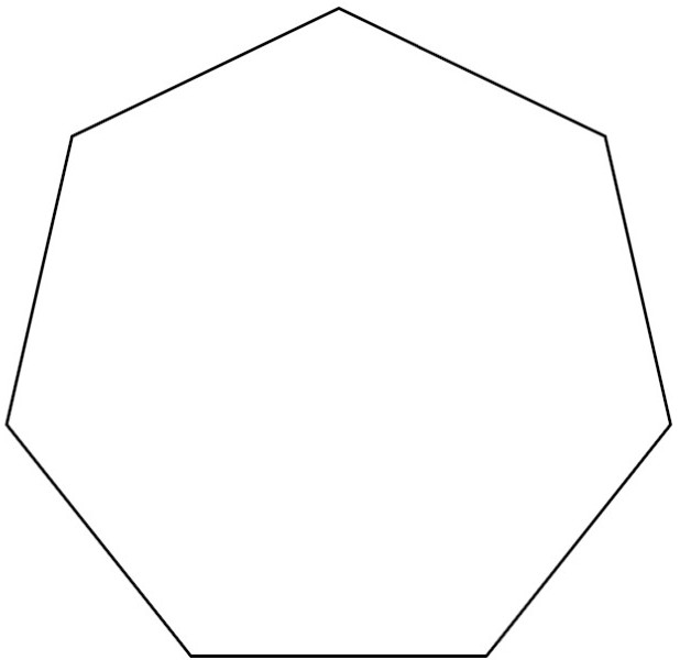 Hexagon clipart sided. Shape clip art panda