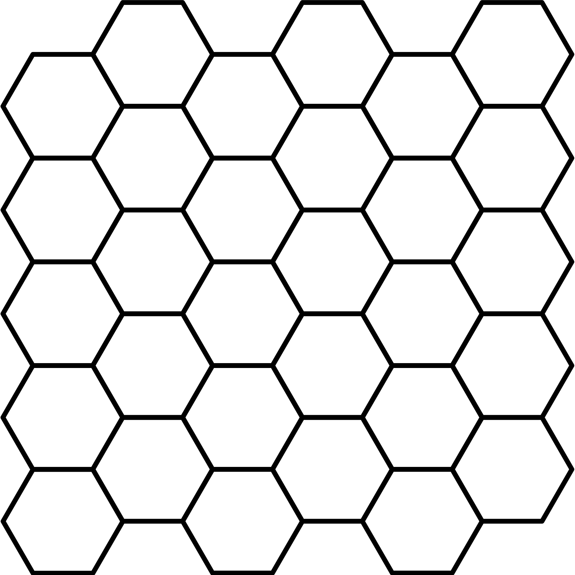 File hexagonal tiling wikimedia. Fence svg chain png royalty free download