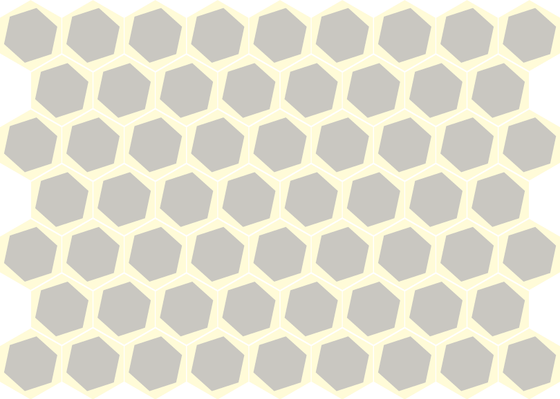 Hexagon drawing handmade. Tsourlakistiles cement tiles