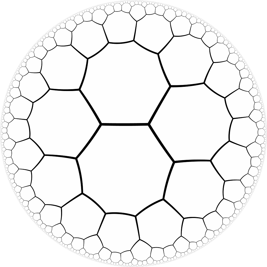 Hexagon drawing zentangle. In nature google search