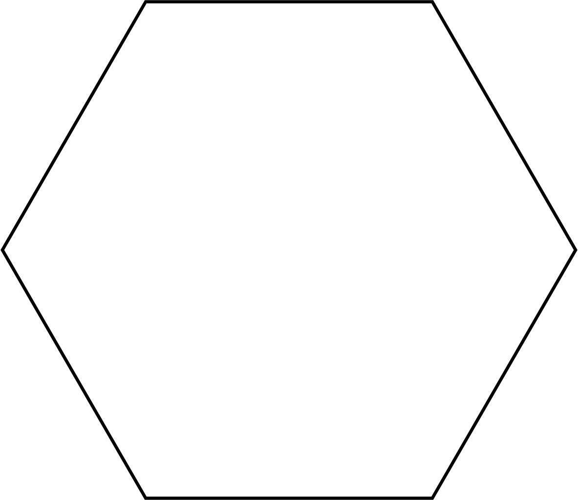 Hexagon vector png. File svg wikimedia commons