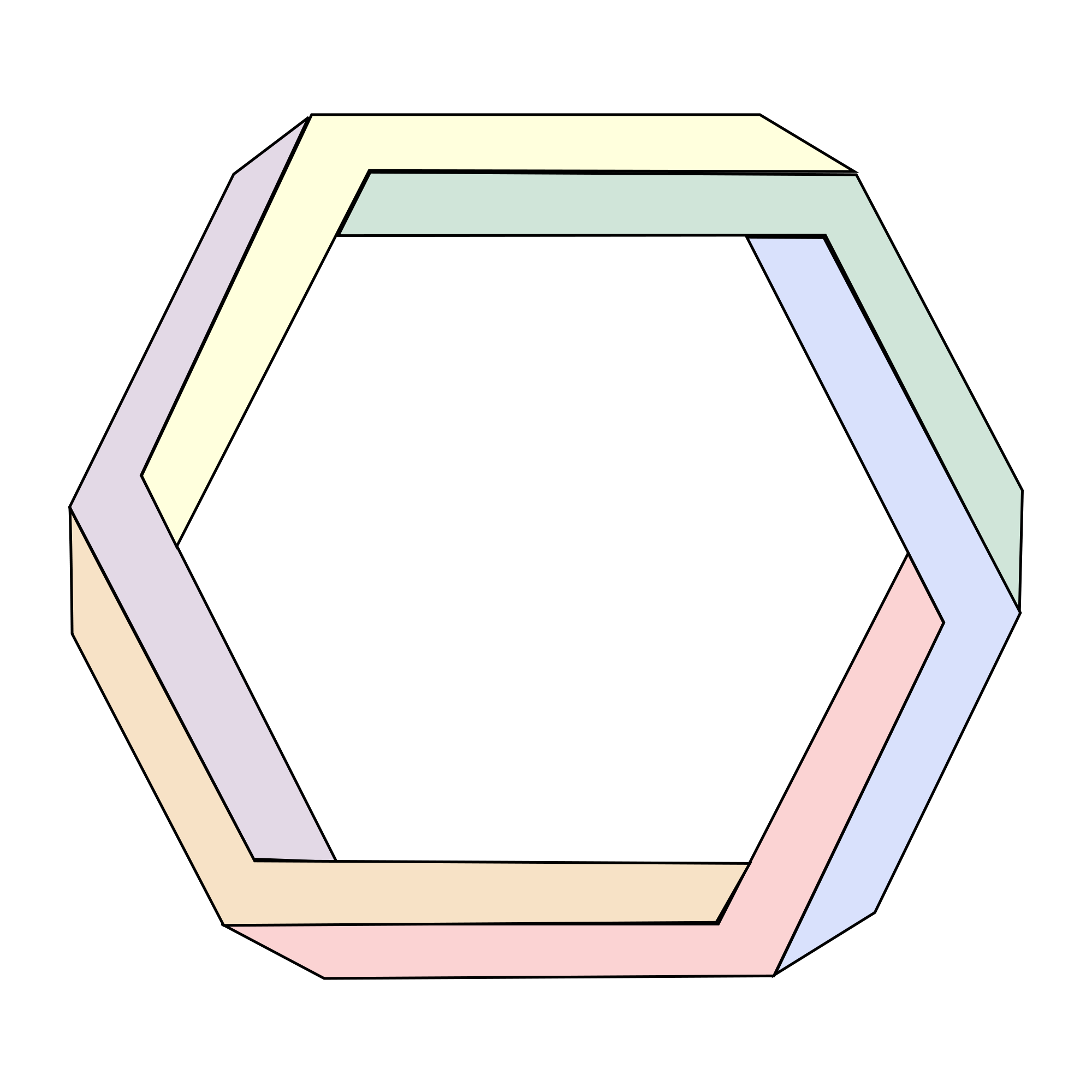 Hexagon vector png. File penrose svg wikimedia