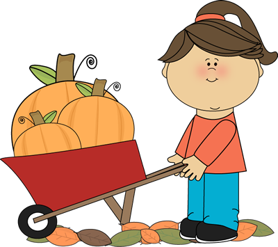 october clipart kids