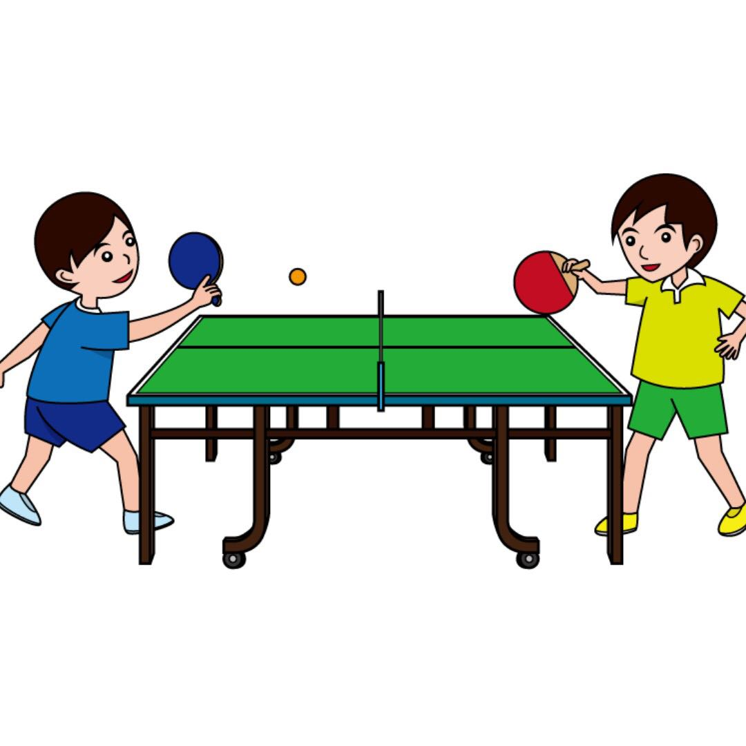 Hi clipart partner student. Table tennis coach sparring
