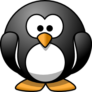 Hi clipart penguin dancing