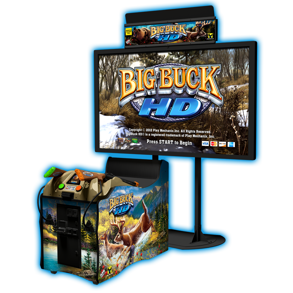Hi definition video game png. Big buck hd raw