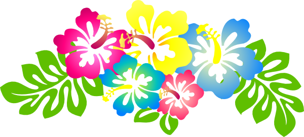 Hibiscus flower clip art. Hawaiian clipart vector transparent