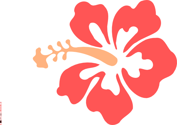 Hibiscus clipart png. Flower clip art at