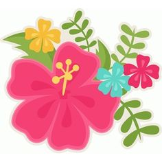 moana clipart flower crown