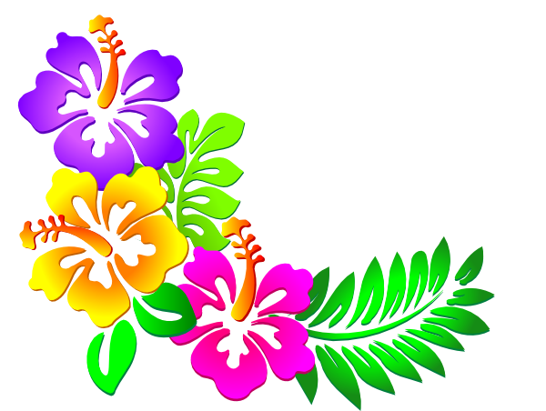 Greenery vector clip art. Image detail for hibiscus