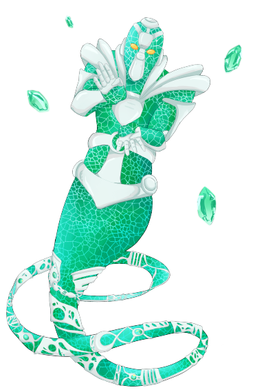 Hierophant green png. Commission by mudabon on
