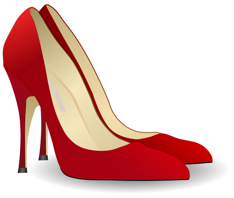 High clipart high heel shoe. Free heels people gnokii