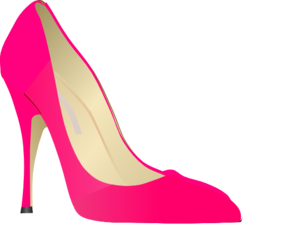 High clipart high heel shoe. Clip art at clker