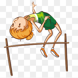 High clipart high jump. Png vectors psd and