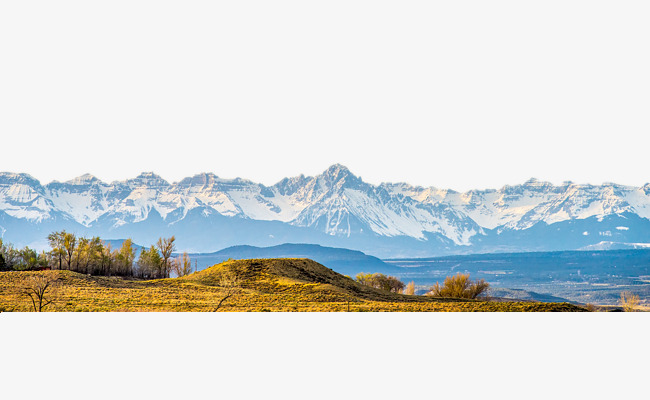 High clipart mountain landform. Rolling snow capped mountains